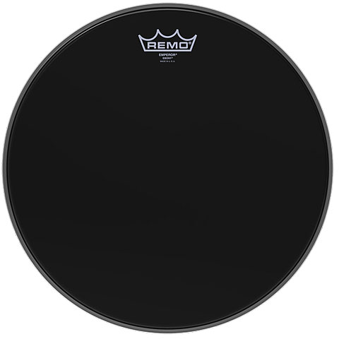 Remo Emperor Ebony 14  Tom Head