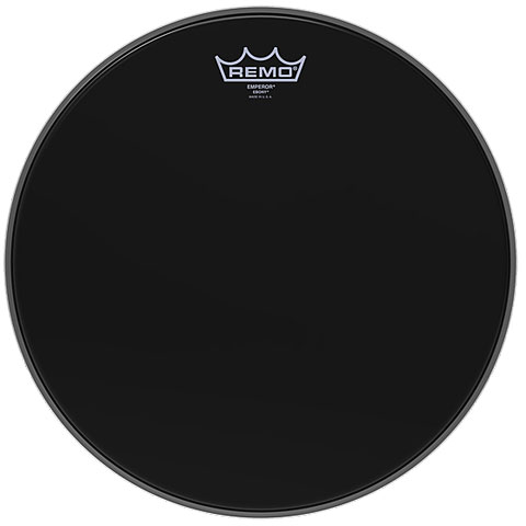 Remo Emperor Ebony 16  Tom Head