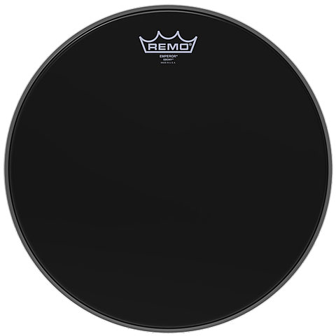 Remo Emperor Ebony 18  Tom Head