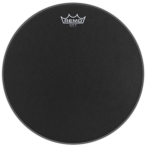 Remo Emperor X Black Suede 10  Snare Head Black Dot