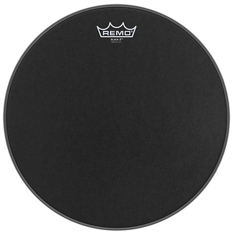 Remo Emperor X Black Suede 12  Snare Head Black Dot
