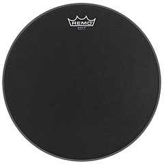 "Remo Emperor X Black Suede 12"" Snare Head Black Dot"