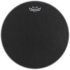 "Remo Emperor X Black Suede 14"" Snare Head Black Dot"