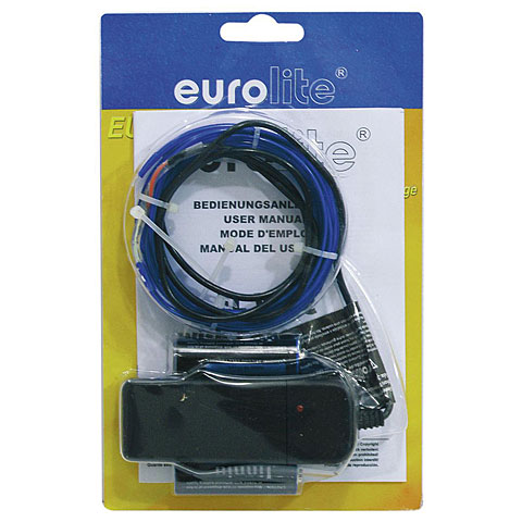 Eurolite EL Wire 2 mm, 2 m, blue