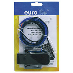 Eurolite EL Wire 2 mm, 2 m, blue « Lampe décorative