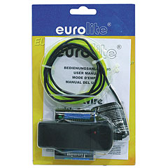 Eurolite EL Wire 2 mm, 2 m, yellow « Lampe décorative