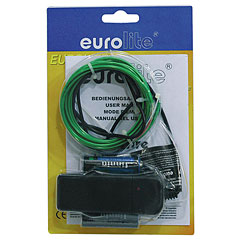 Eurolite EL Wire 2 mm, 2 m, green « Lampe décorative