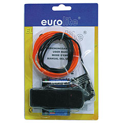 Eurolite EL-Wire 2 mm, 2 m, red « Lampe décorative