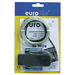 Eurolite EL Wire 2 mm, 2 m, white, 6400 K « Lampe décorative