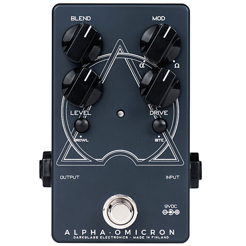 Bass Guitar Effect Darkglass Alpha Omicron