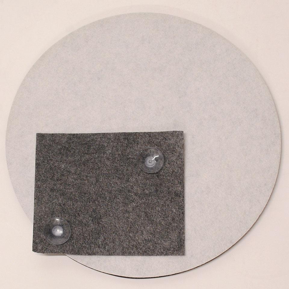 thinwood snare drum damper pad 12 with fleece practice pad. Black Bedroom Furniture Sets. Home Design Ideas