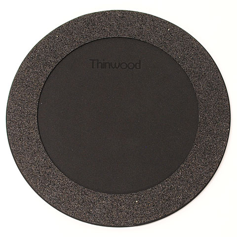 "Thinwood Snare Drum Damper Pad 12"" with Fleece"