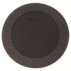 "Thinwood Snare Drum Damper Pad 12"" with Fleece « Pad de práctica"