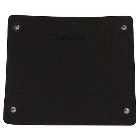 "Pad de práctica Thinwood Bass Drum Damper Pad 16""-18"""