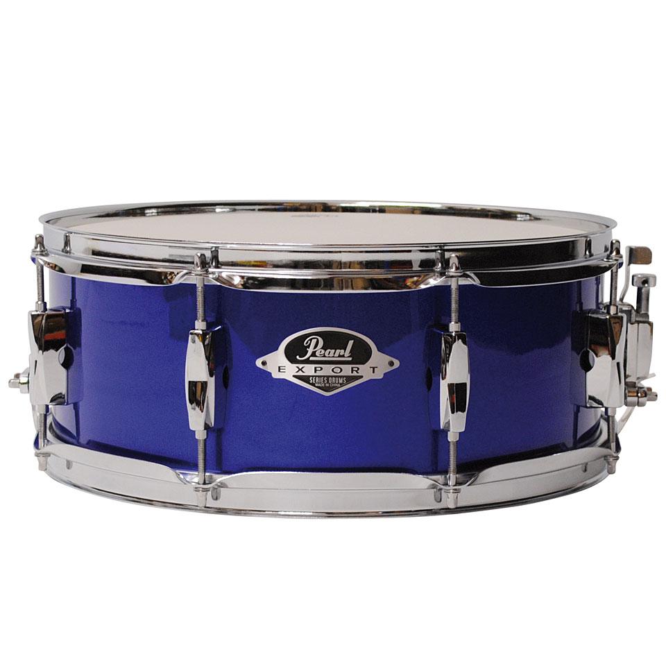High Voltage Drummer : Pearl export quot high voltage blue « snare drum
