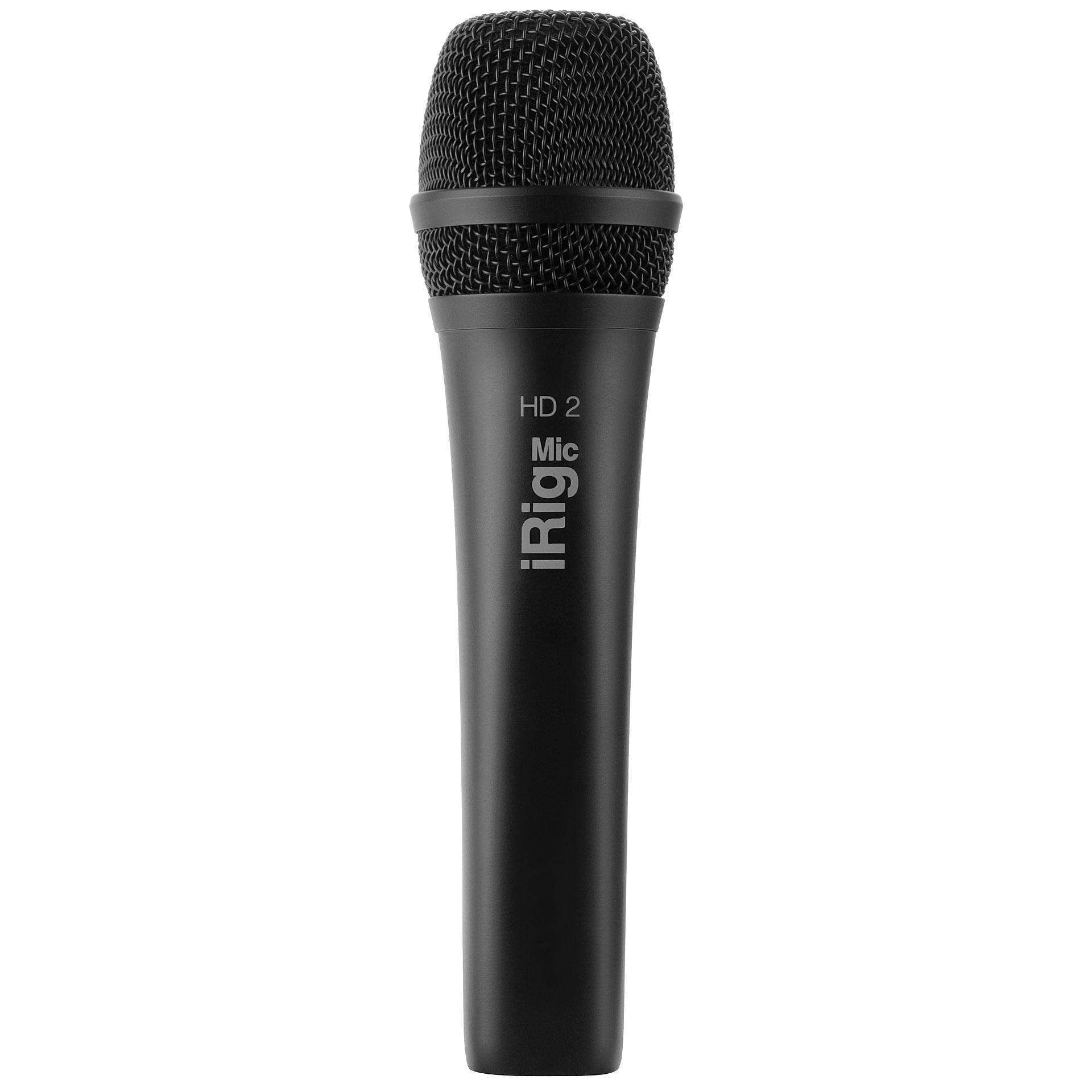 ik multimedia irig mic hd 2 microphone musik produktiv. Black Bedroom Furniture Sets. Home Design Ideas