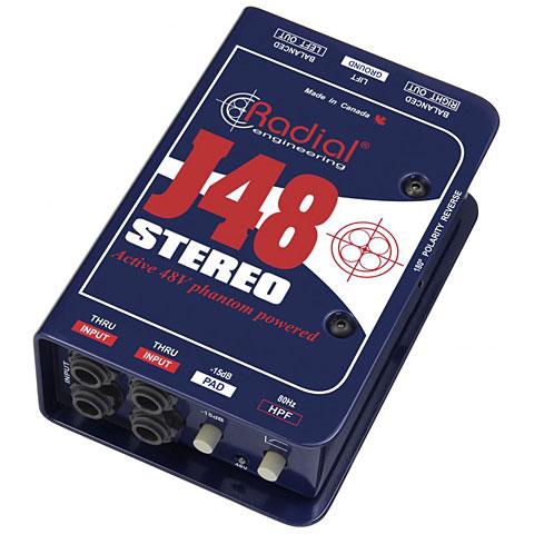 DI-Box/splitter Radial J48 Stereo