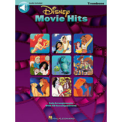 Hal Leonard Disney Movie Hits for trombone/baritone « Play-Along