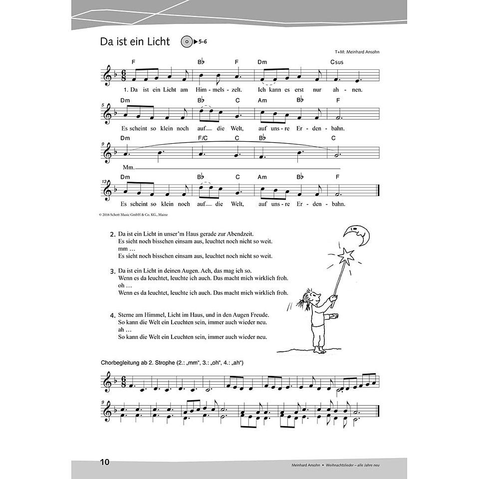 Schott Weihnachtslieder - alle Jahre neu « Notenbuch | Musik ...