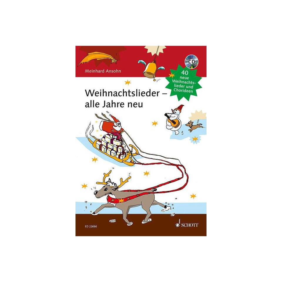 Weihnachtslieder Alphabetisch.Schott Weihnachtslieder Alle Jahre Neu