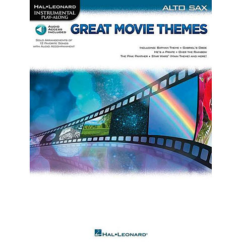 Hal Leonard Great Movie Themes for Alto Sax