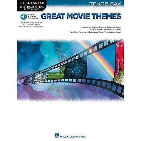 Hal Leonard Great Movie Themes for Tenor Sax