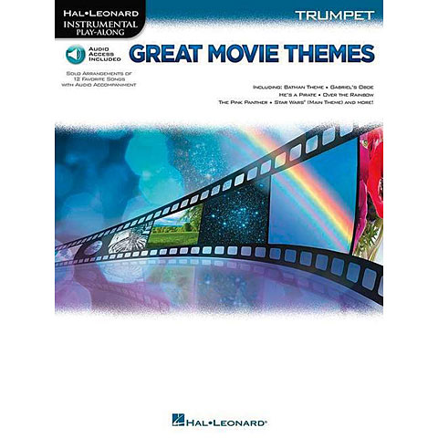 Hal Leonard Great Movie Themes for Trumpet