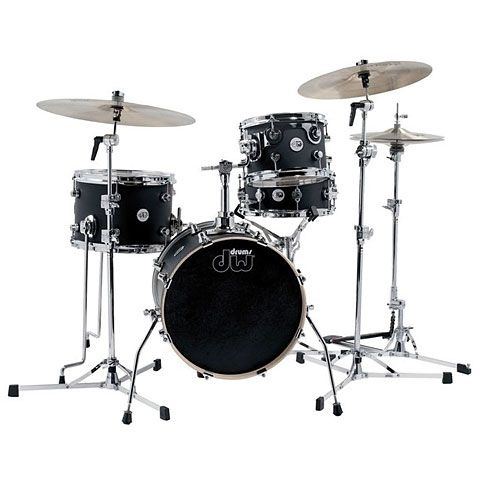 "Batería DW Design 16"" Black Satin Mini Pro Set"