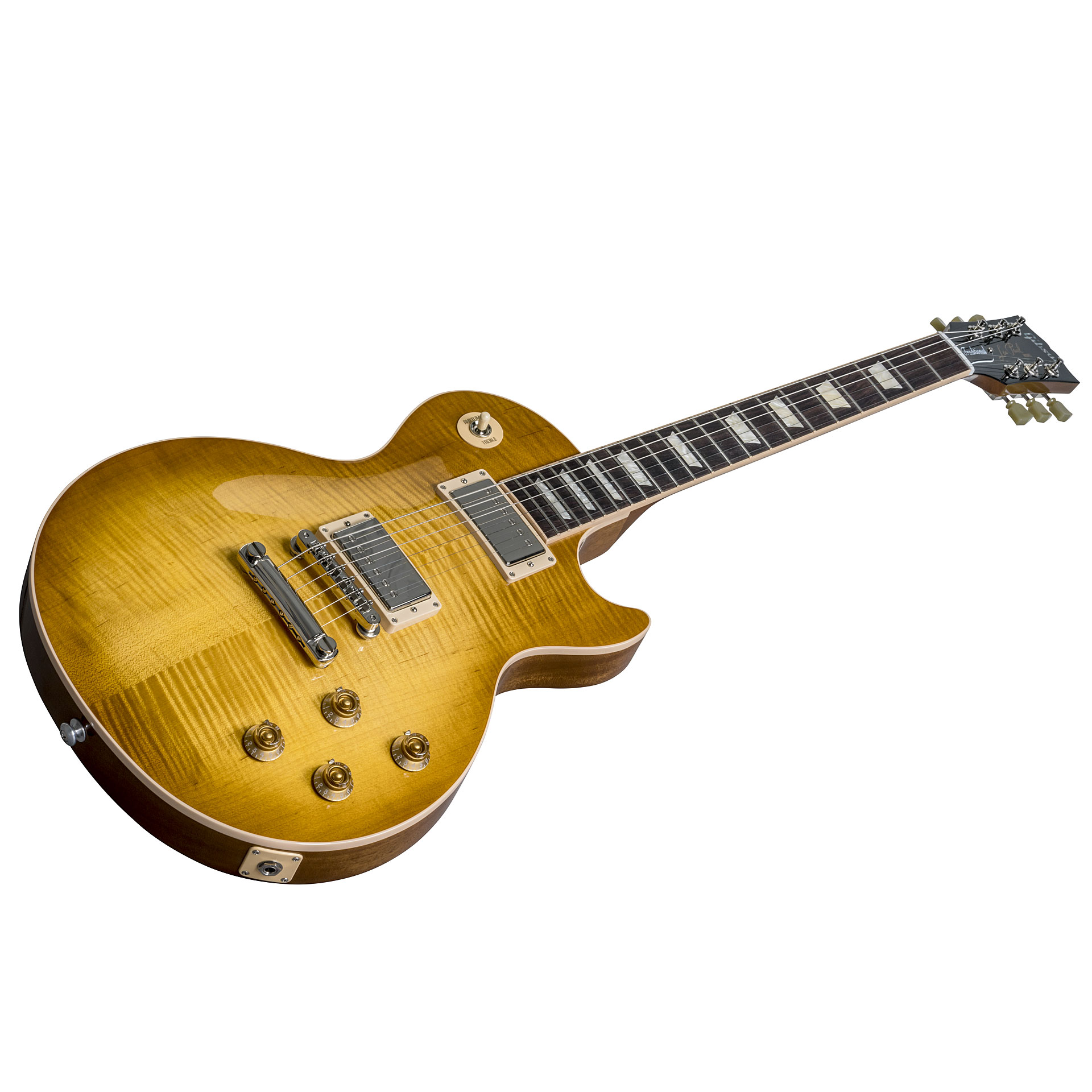 gibson les paul traditional 2018 honey burst electric guitar. Black Bedroom Furniture Sets. Home Design Ideas