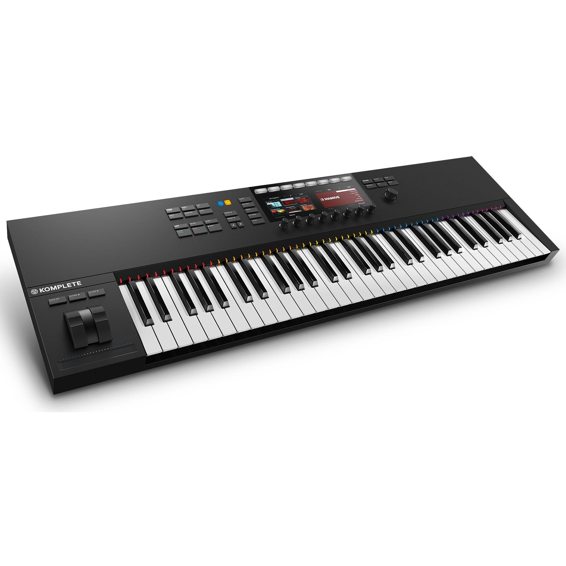 native instruments kontrol s61 mk2 masterkeyboard. Black Bedroom Furniture Sets. Home Design Ideas