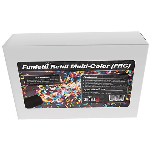 Chauvet Funfetti Shot Refill – Color