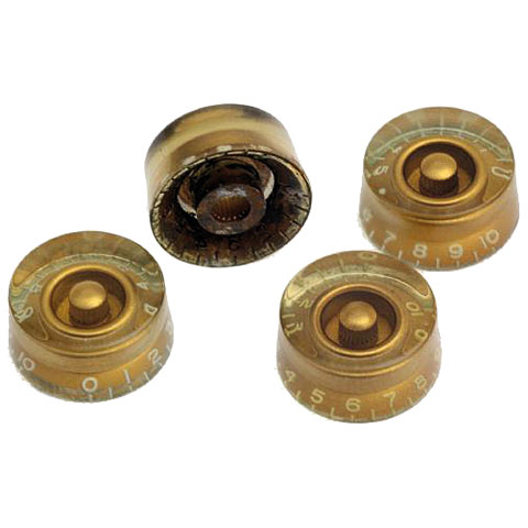 Crazyparts Art of Aging 50s Speedknobs  Gold, Aged, 4x