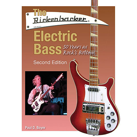 Hal Leonard The Rickenbacker Electric Bass - Second Edition