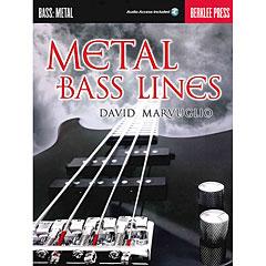 Hal Leonard Metal Bass Lines « Manuel pédagogique