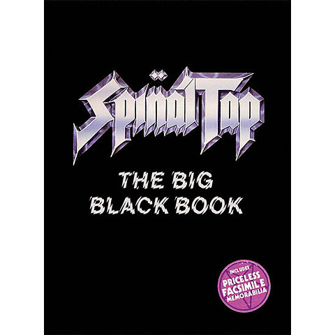 Hal Leonard Spinal Tap The Big Black Book