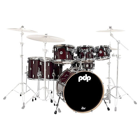 pdp Concept Maple CM7 Cherry Stain