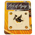 Plaque pour input-jack Crazyparts Art of Aging '50s Jackplate, Ivory