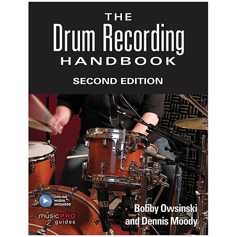 Hal Leonard The Drum Recording Handbook 2nd Edition