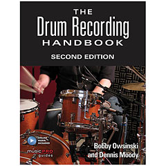 Hal Leonard The Drum Recording Handbook 2nd Edition « Libro tecnico