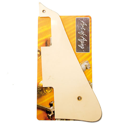 Crazyparts Art of Aging Pickguard Creme/Ivory