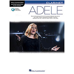 Hal Leonard Adele for Clarinet « Play-Along