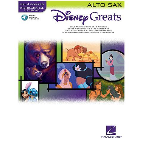 Play-Along Hal Leonard Disney Greats for Alto Sax