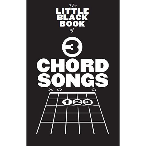 Songbook Music Sales The Little Black Book: 3-Chord Songs