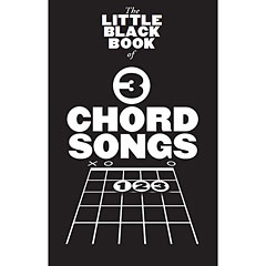 Music Sales The Little Black Book: 3-Chord Songs « Recueil de morceaux
