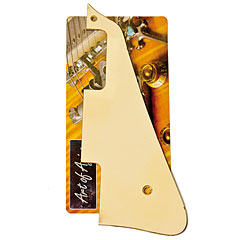 Crazyparts Art of Aging Pickguard Creme/Ivory Burst Cut « Golpeador