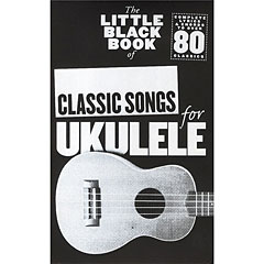 Music Sales The Little Black Book of Classic Songs for Ukulele « Cancionero
