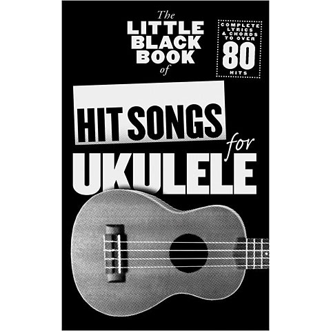 Songbook Music Sales The Little Black Book of Hit Songs for Ukulele