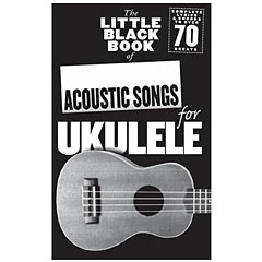 Music Sales The Little Black Book of Acoustic Songs for Ukulele « Recueil de morceaux