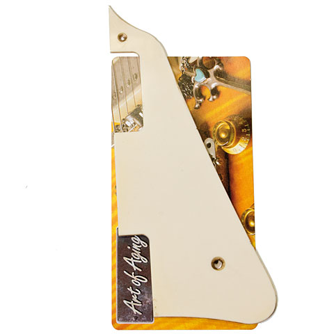 Crazyparts Area 59 Pickguard Vintage Bone