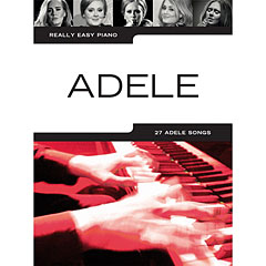 Music Sales Really Easy Piano - Adele - 27 Adele Songs « Recueil de Partitions